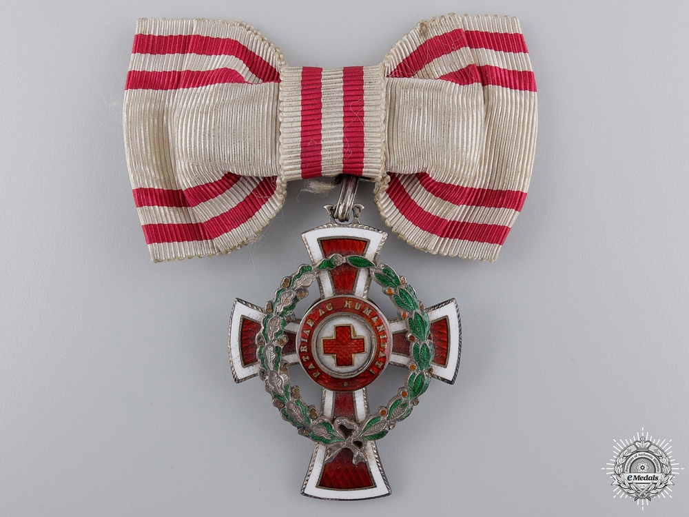 A 3rd Class Austrian Red Cross Decoration by Scheid