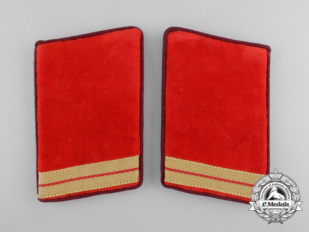 A Pair of Gau Level Tabs 1939-1945; RZM Tagged