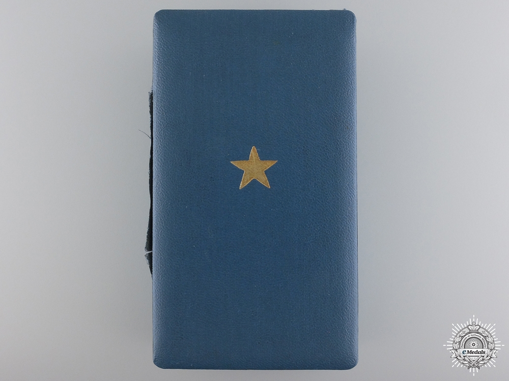 A Belgian Order of the African Star Gold Grade Case