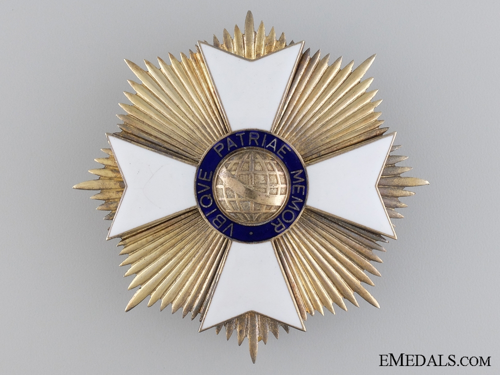 A Brazilian Order of Rio Branco; Grand Cross Star by H.Stern