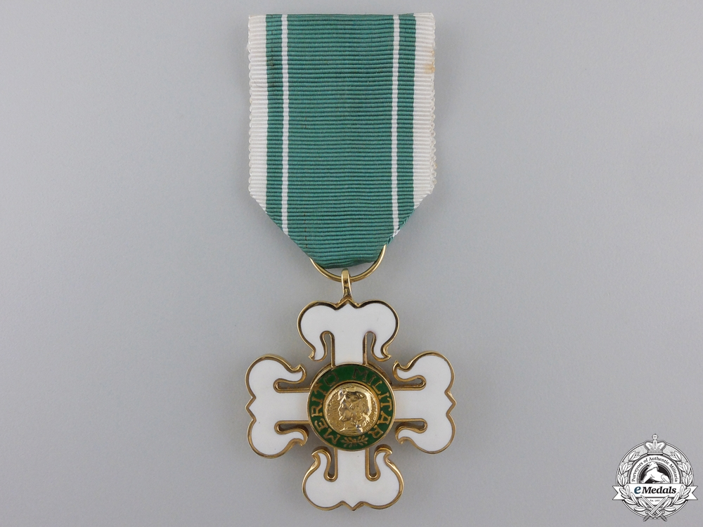 A Brazilian Order of Military Merit; Knight's Cross