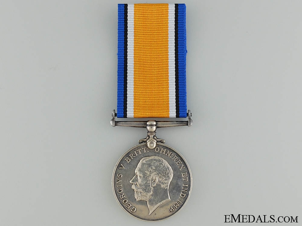 A British War Medal to the Canadian Forestry Corps CEF