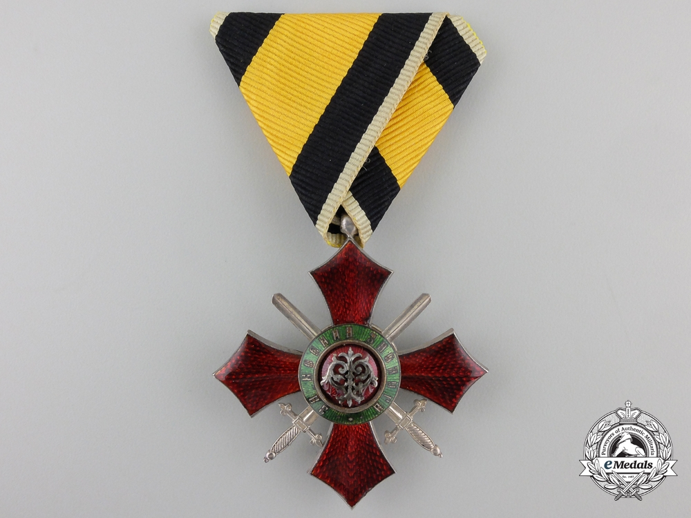 A Bulgarian Order for Military Merit; Fifth Class