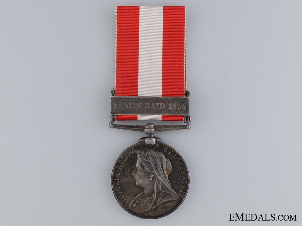 A Canada General Service Medal to the 22nd Oxford Regiment
