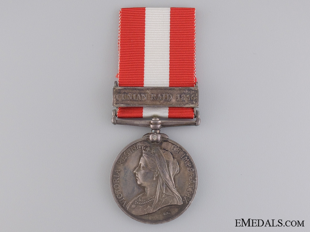 A Canada General Service Medal to the New Brunswick Engineers