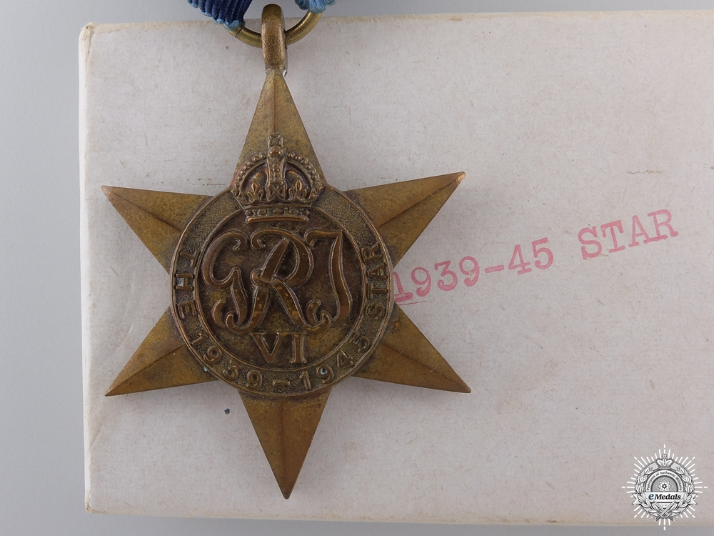 A Cased 1939-45 Campaign Star