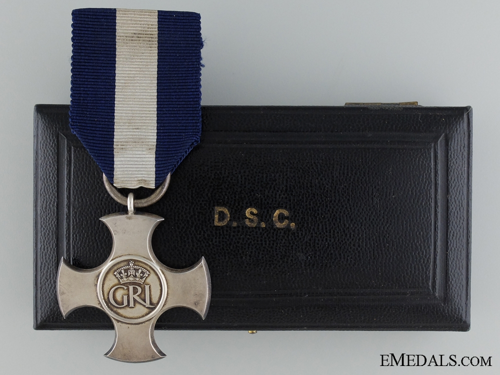 A Cased 1941 WWII Distinguished Service Cross