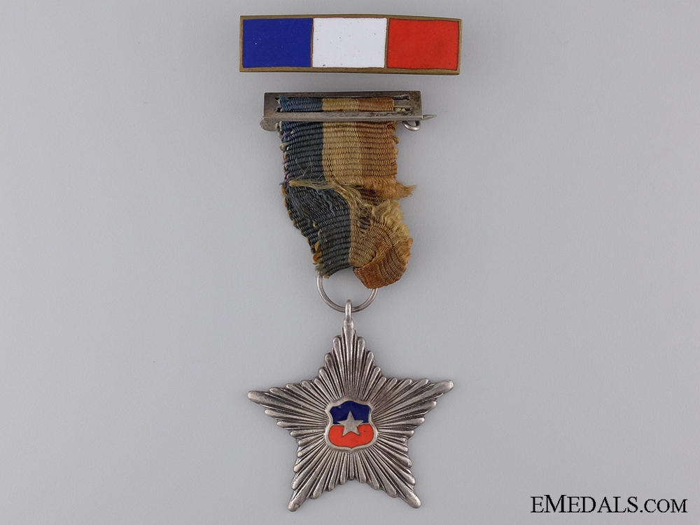 A Chilien Military Star for Non-Commissioned Officers