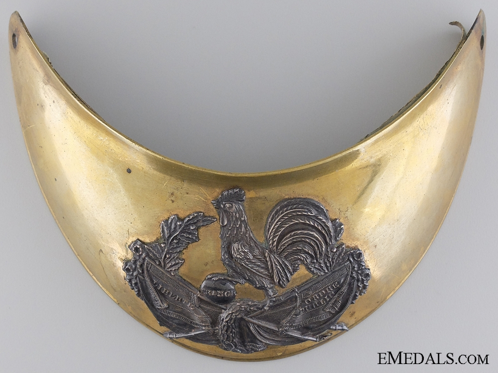 A Crimea Period c.1855 French Officer's Gorget