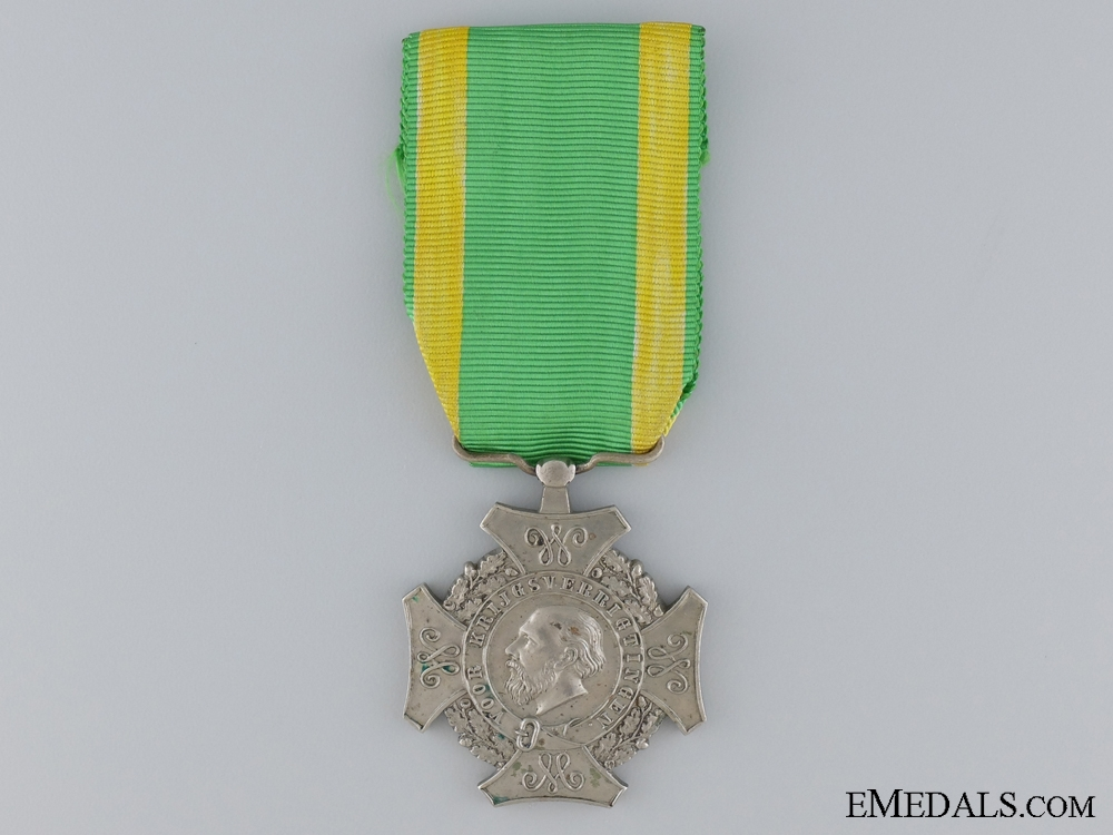 A Dutch 1869 Expedition Campaign Medal