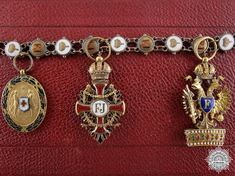 A Fine Austrian Miniature Group by Mayer and Sohne