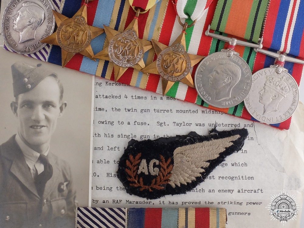 A Fine Distinguished Flying Medal for Downing an ME-110