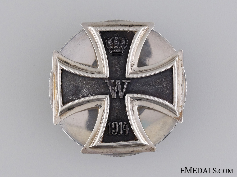 A Fine WWI Iron Cross, Unmarked Hansen