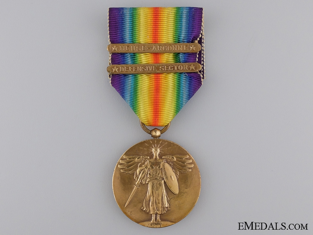 A First War American Victory Medal; Official Type II