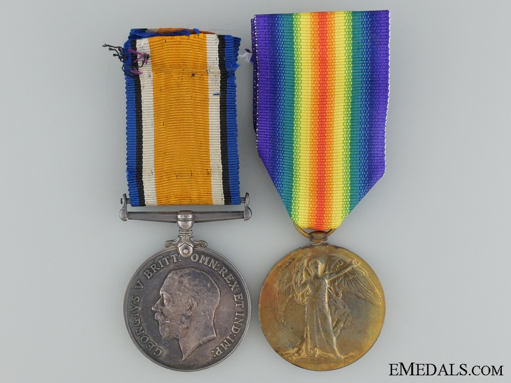A First War Canadian Pair to the 73rd Infantry Battalion