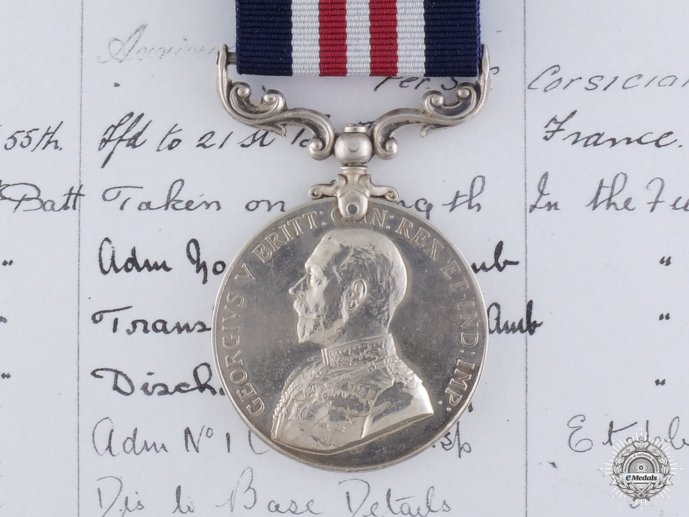 A First War Canadian Military Medal to the 21st Battalion