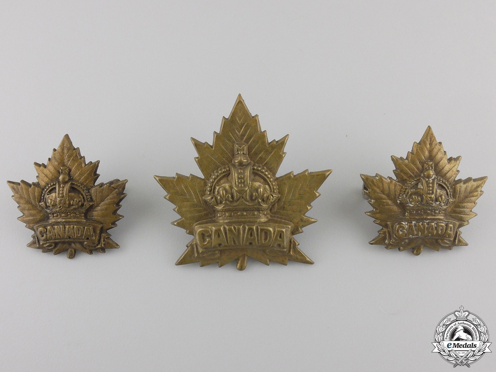 A First War Canadian Cadets Air Service Insignia