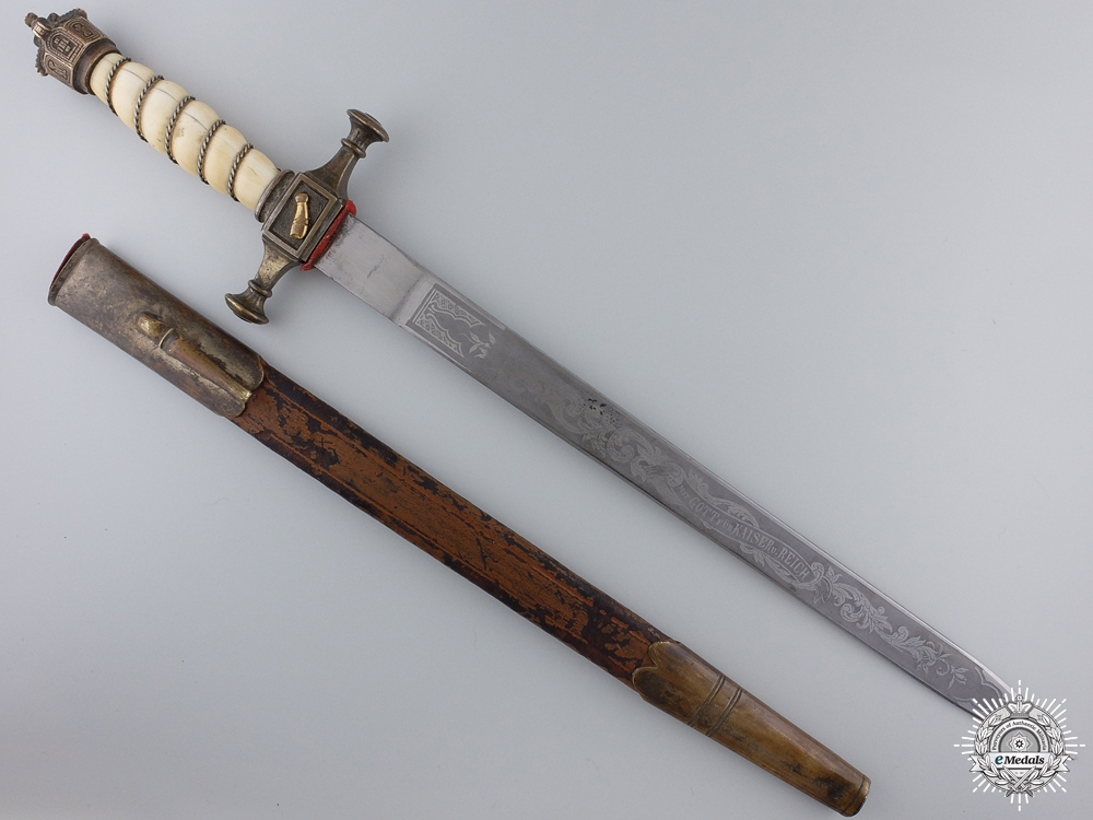 A First War Imperial Prussian Automobile Corps Dagger