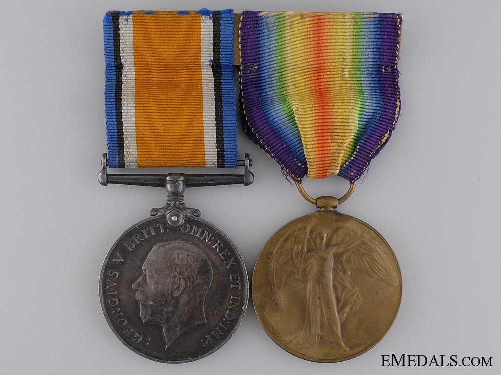 A First War Pair to the Canadian Engineers