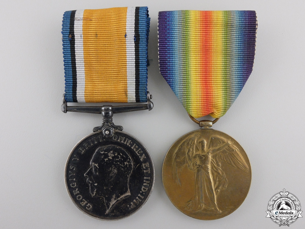A First War Pair to the 18th Canadian Infantry CEF