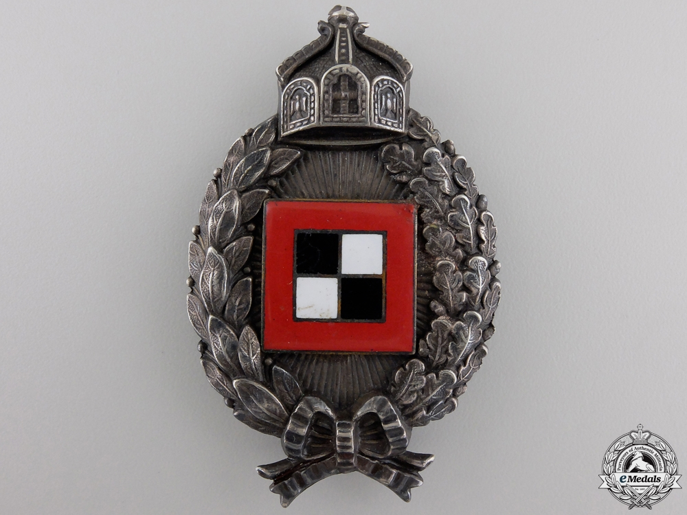 A First War Prussian Observer's Badge by Carl Dilenius