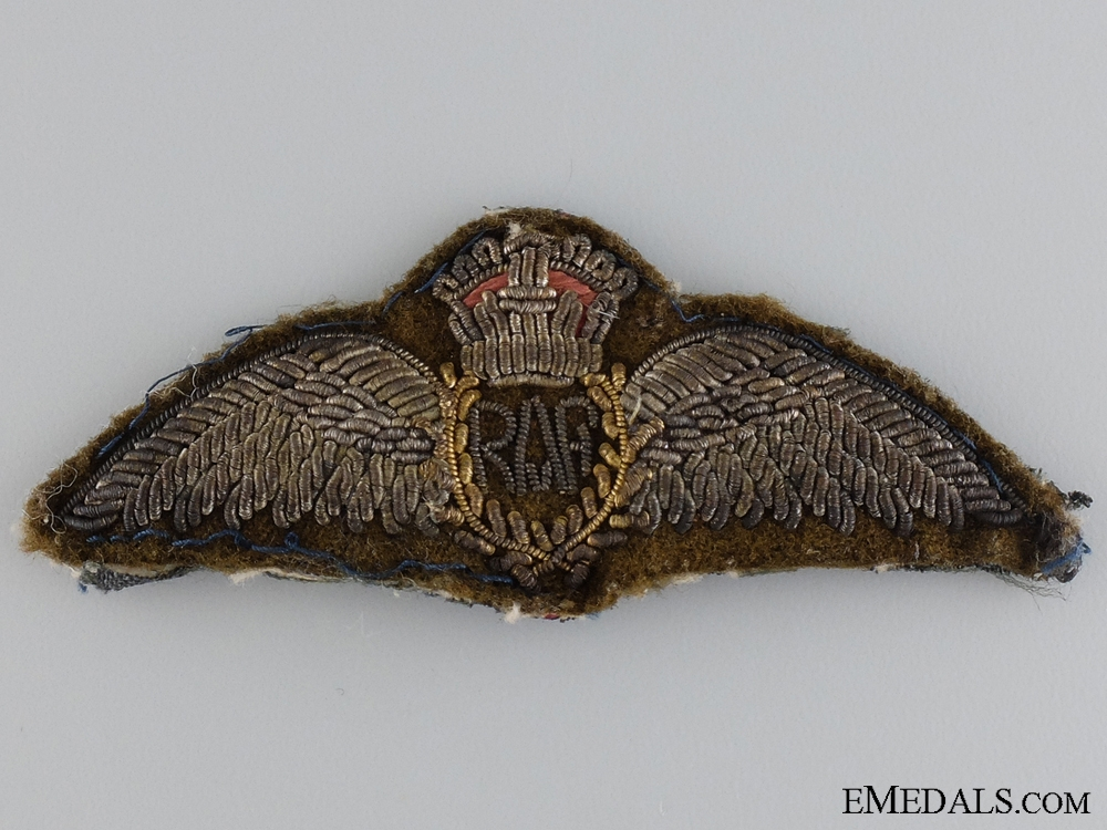 A First War Royal Air Force Pilot Wings c.1918