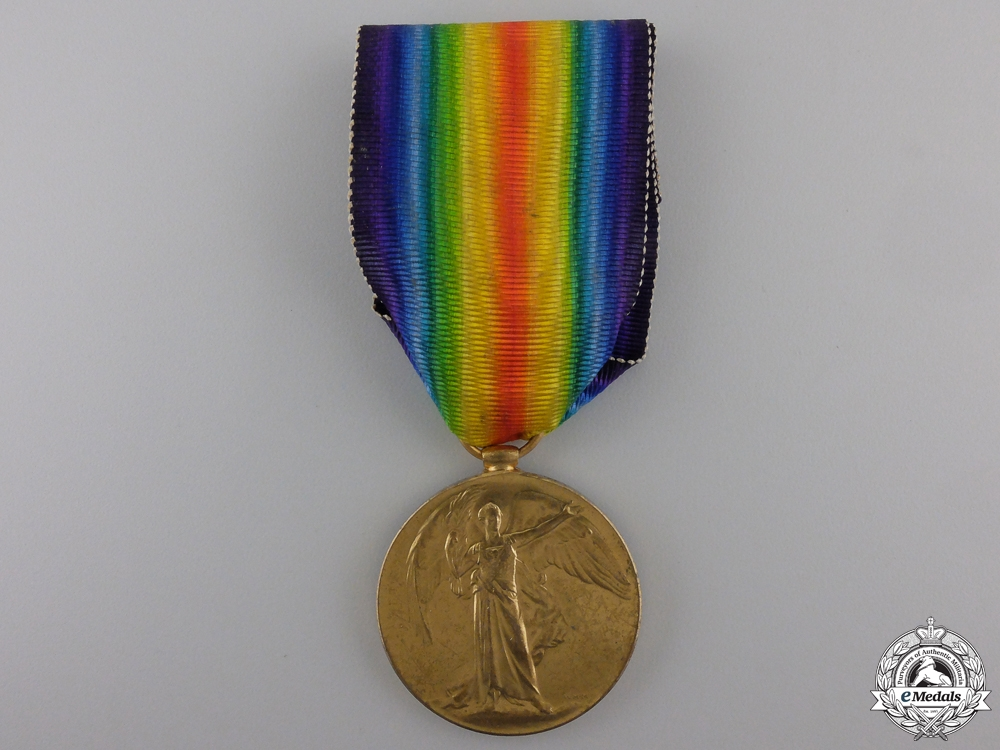 A First War Victory Medal to the Army Cyclist Corps