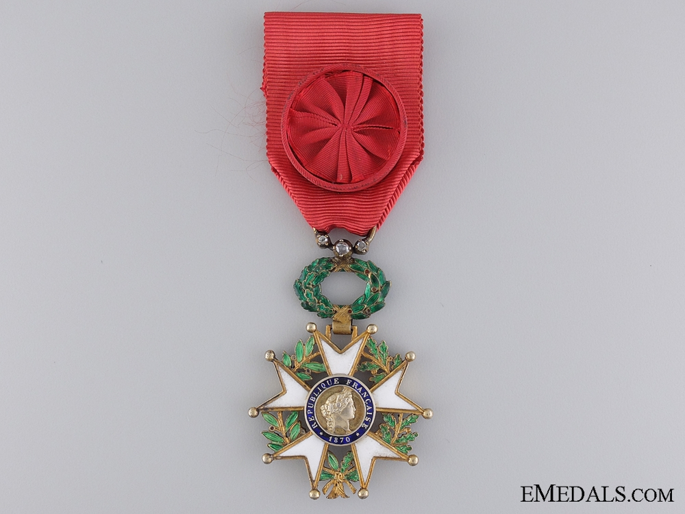 A French Legion D'Honneur; Officer's Breast Badge