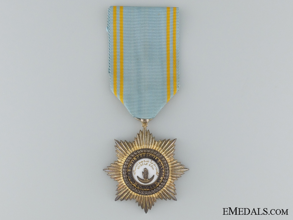 A French Made Order of Star of Anjouan