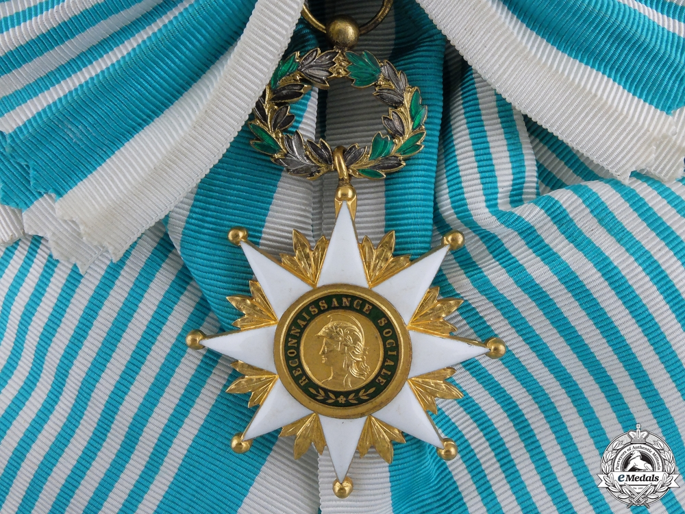 A French Order of Social Recognition; Grand Cross
