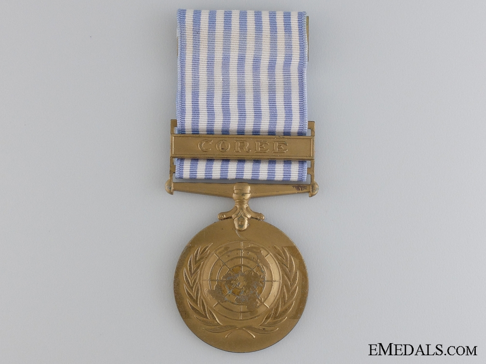 A French United Nations Korea Medal