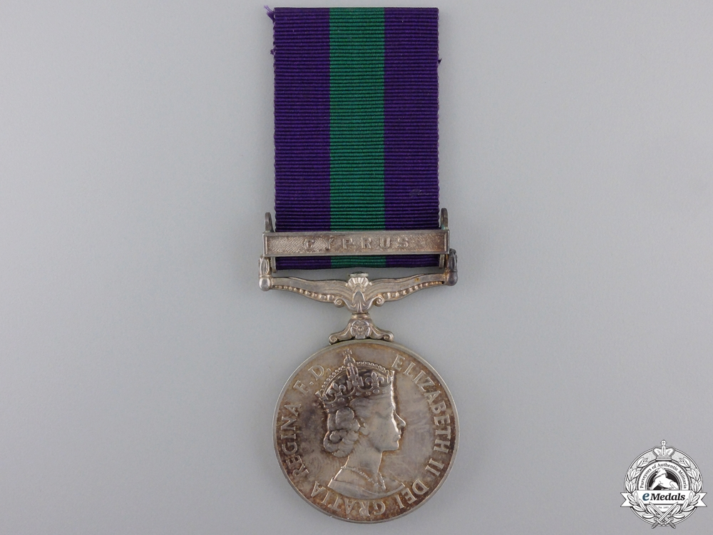 A General Service Medal 1918-1962 to the Lancashire Fusiliers