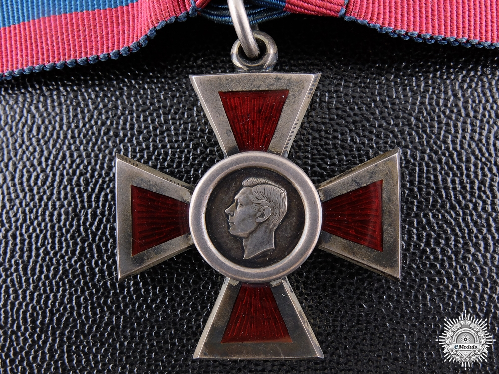 A George VI Royal Red Cross; 2nd Class