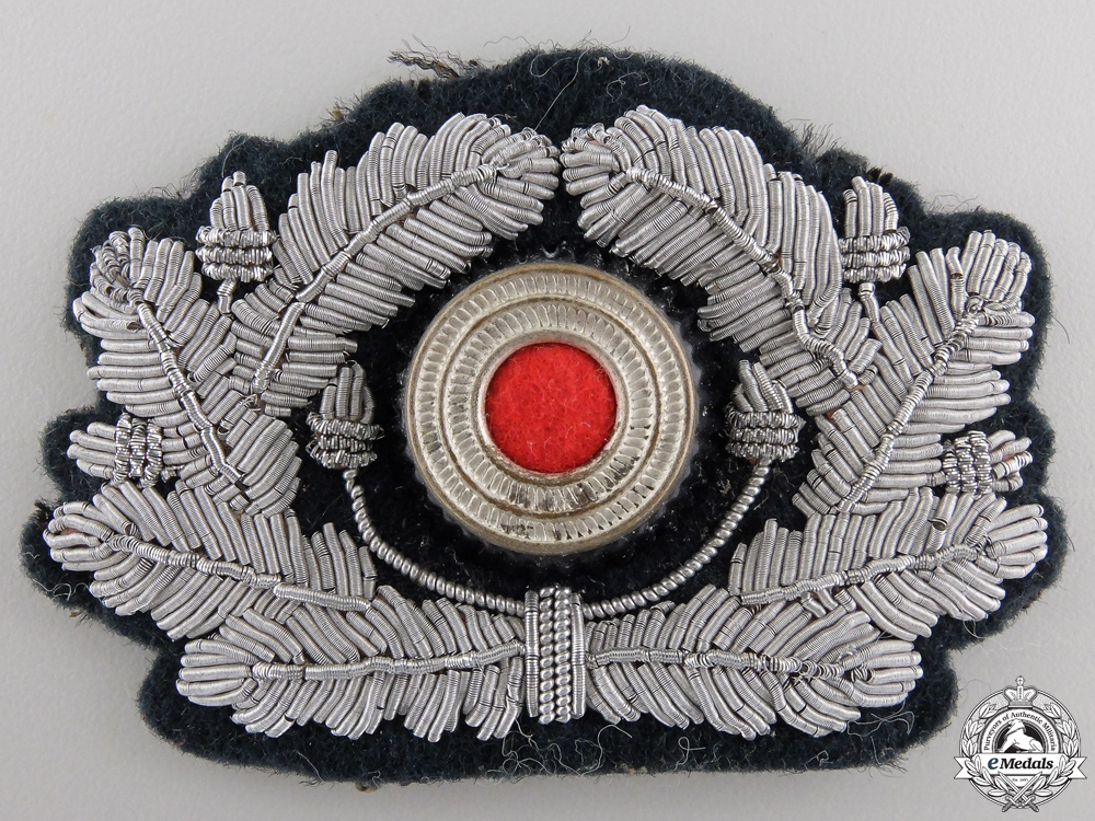 A German Army Officer's Wreath and Cockade
