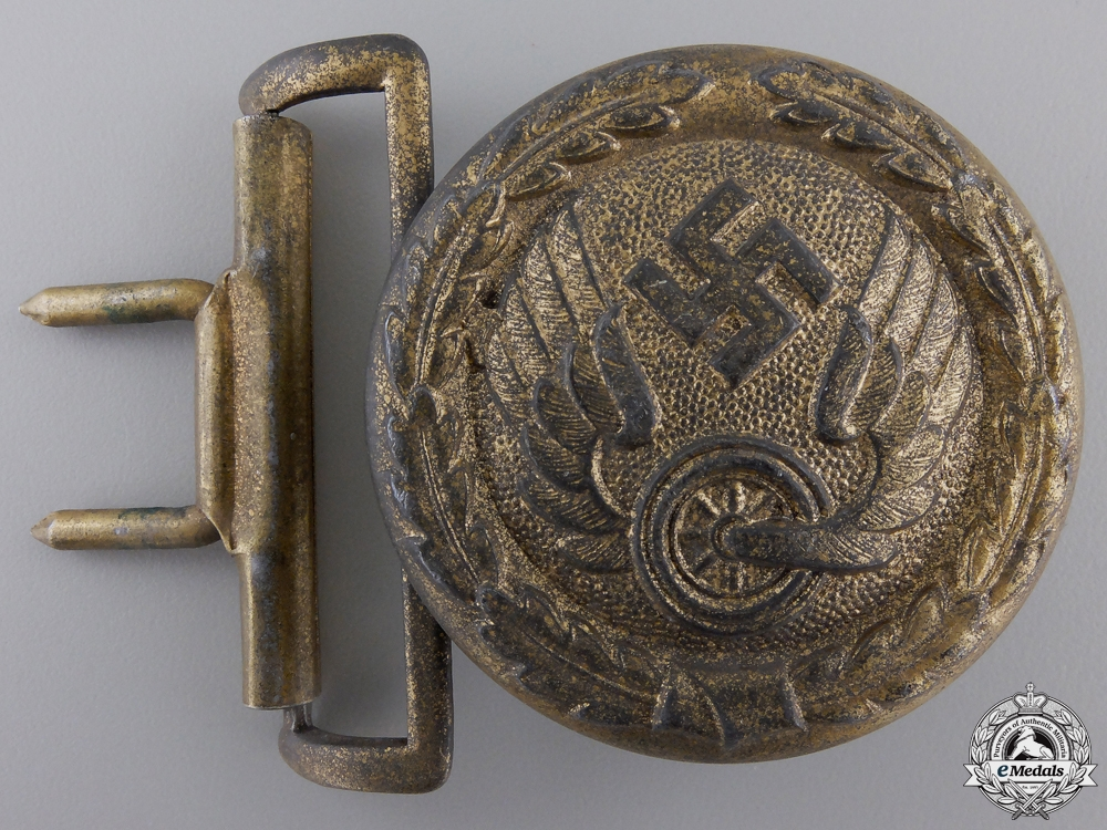 A German Railway Official's Belt Buckle