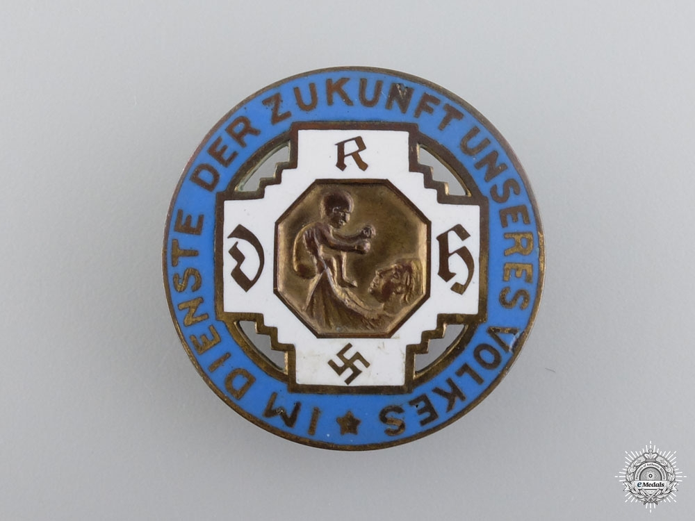 A German State Midwife Association Badge