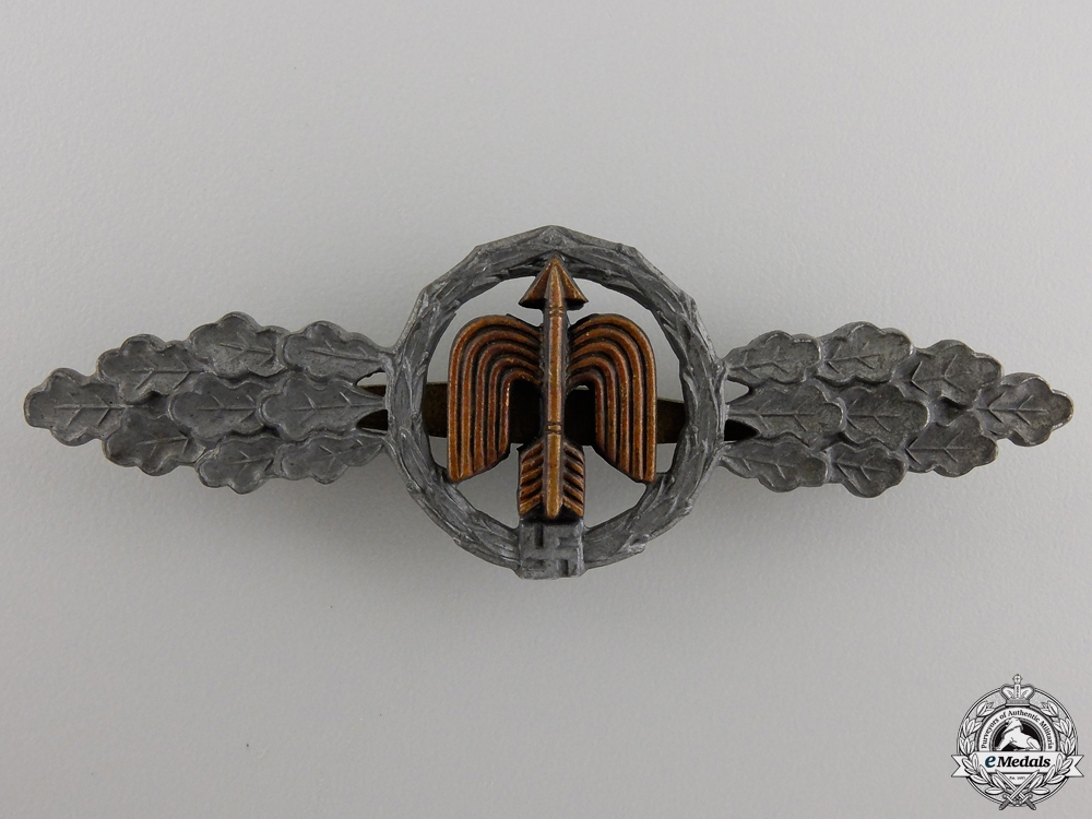 A Gold Grade Luftwaffe Day Fighter Pilots Clasp