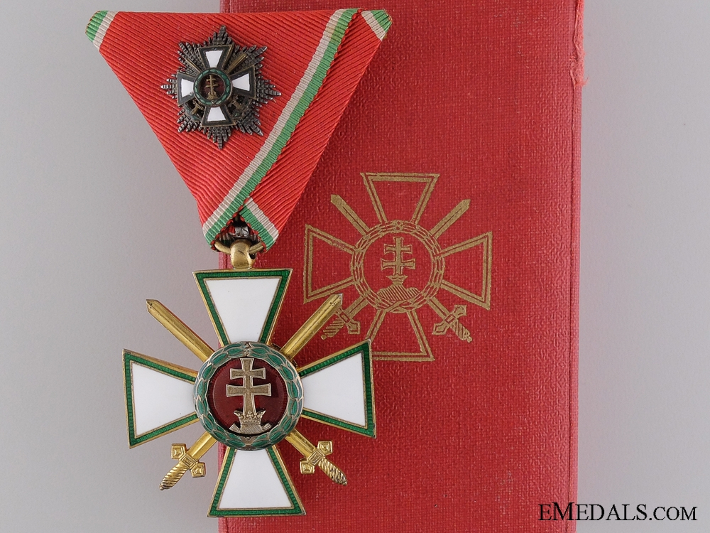 A Hungarian Order of Merit with Grand Cross; Military Division