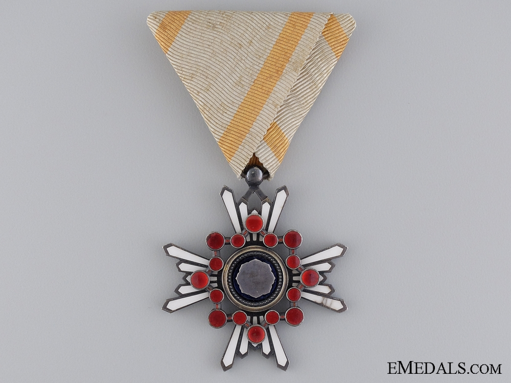 A Japanese Order of the Sacred Treasure; Sixth Class
