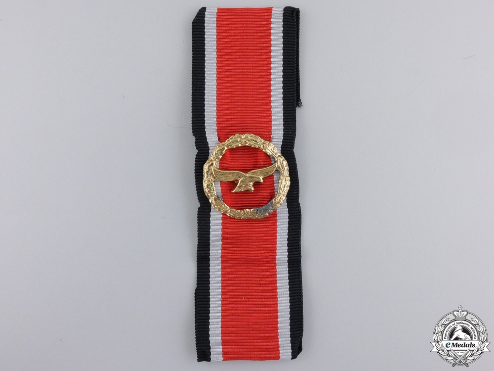 A Luftwaffe  Honour Roll Clasp; 1957 Issue