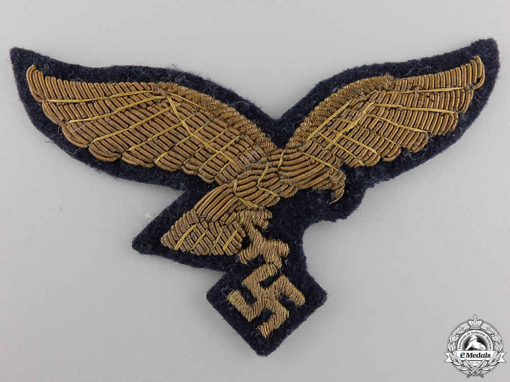A Luftwaffe General's Breast Eagle; 2nd Type