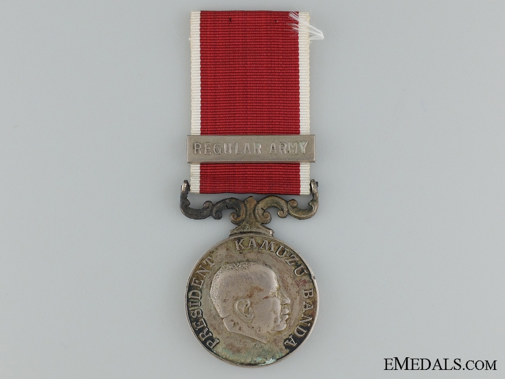 A Malawi Army Long Service and Good Conduct Medal