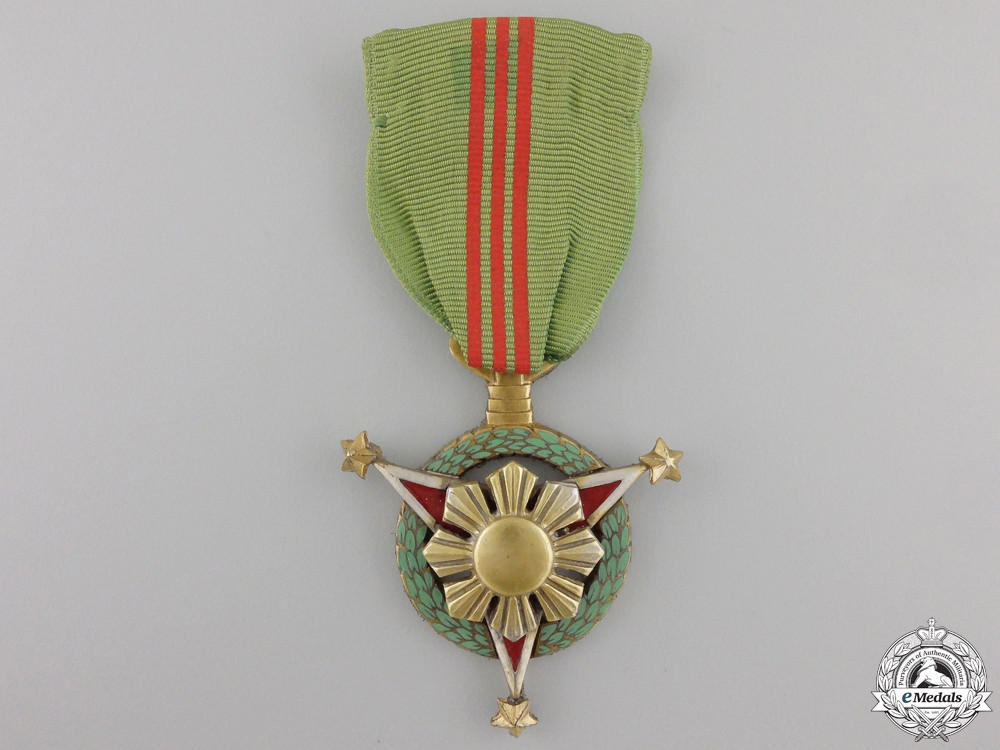 A Military Merit Medal of the Philippines