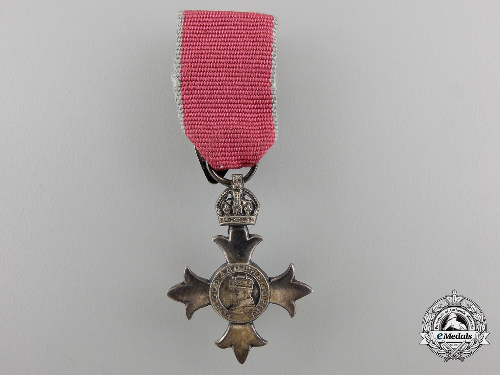 A Miniature Most Excellent Order of the British Empire