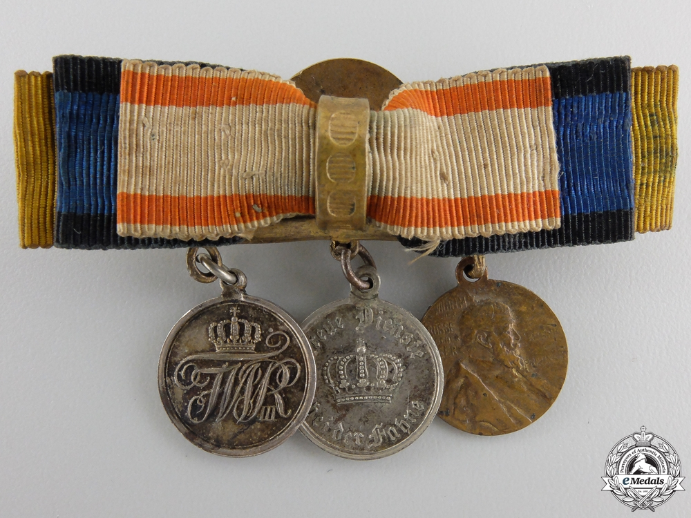 A Miniature Prussian Medal Group