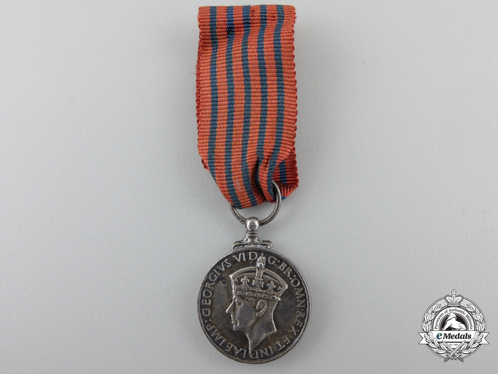 A Miniature Second War George Medal