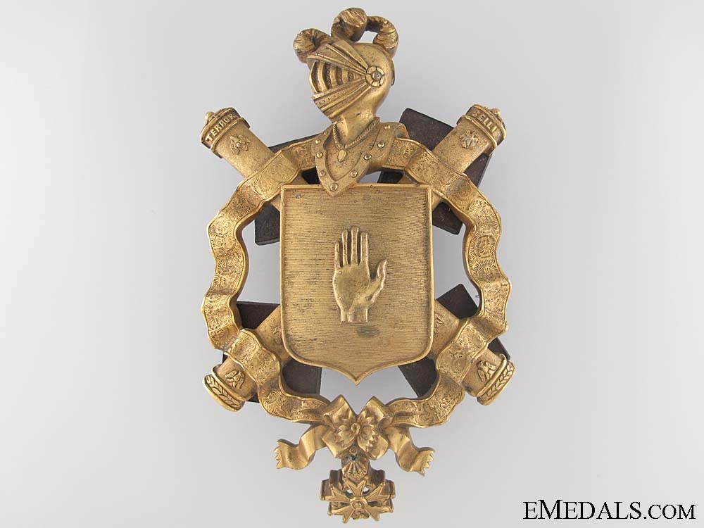 A Napoleonic Field Marshal's Carriage Shield