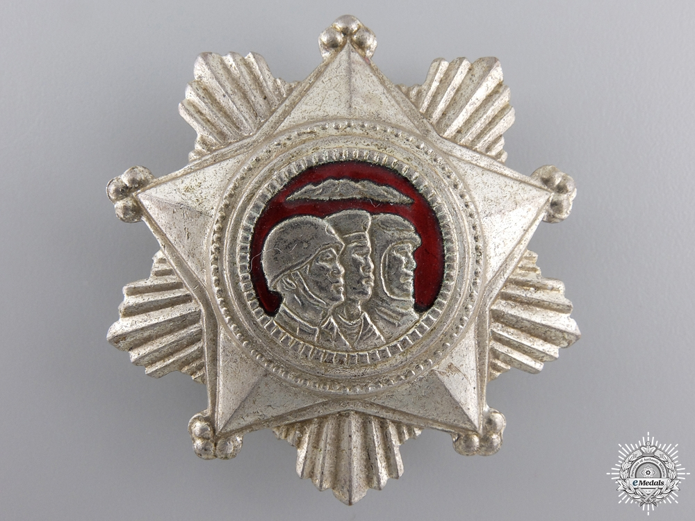 A North Korean Order of Military Service Honour; 3rd Class