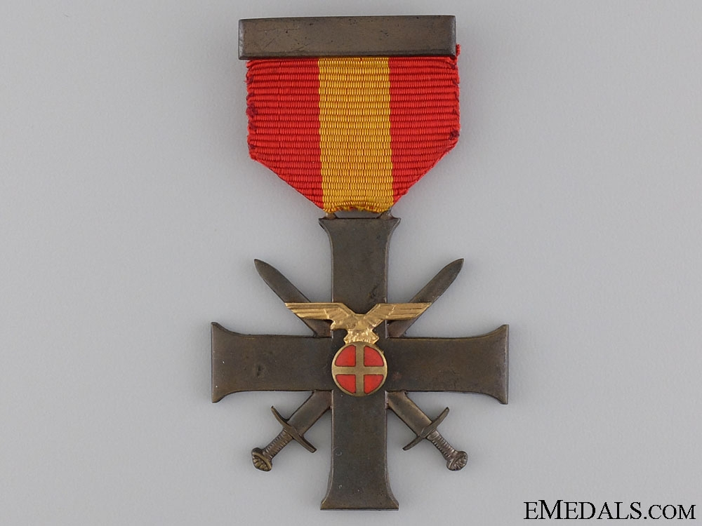 A Norwegian Order for Bravery and Loyalty; 2nd Class