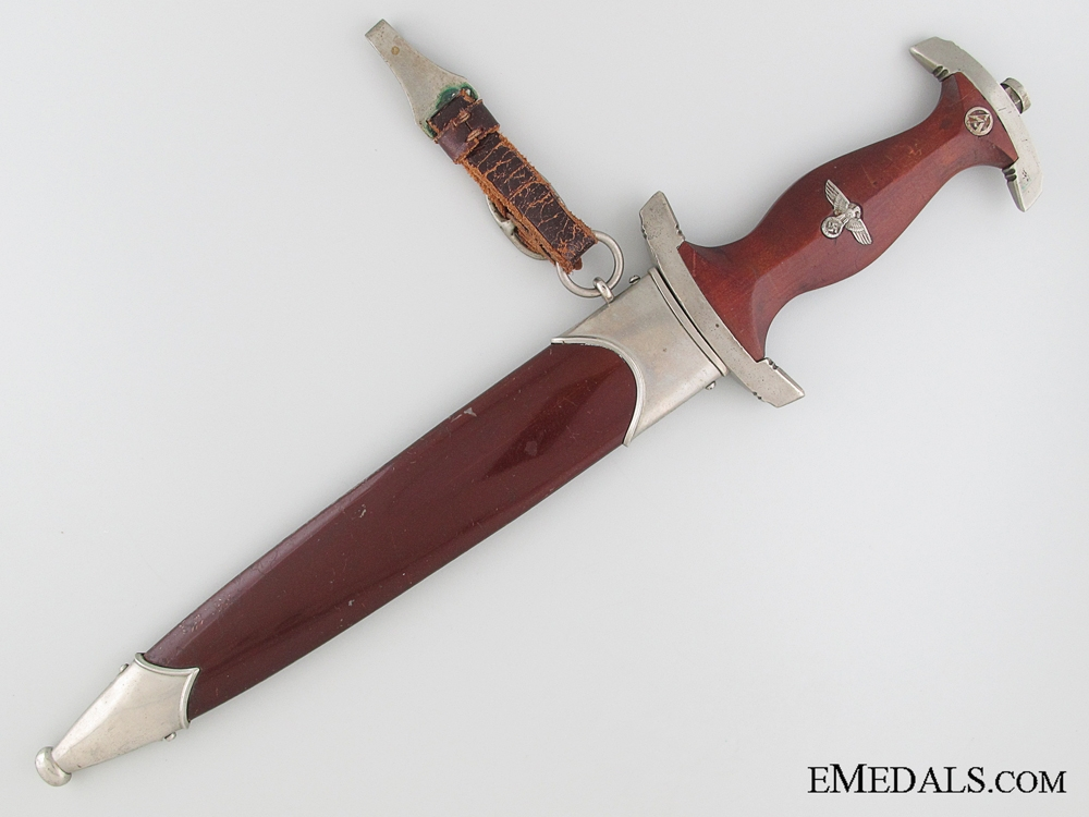 A Personalized SA Dagger by Ernst Pack & Söhne